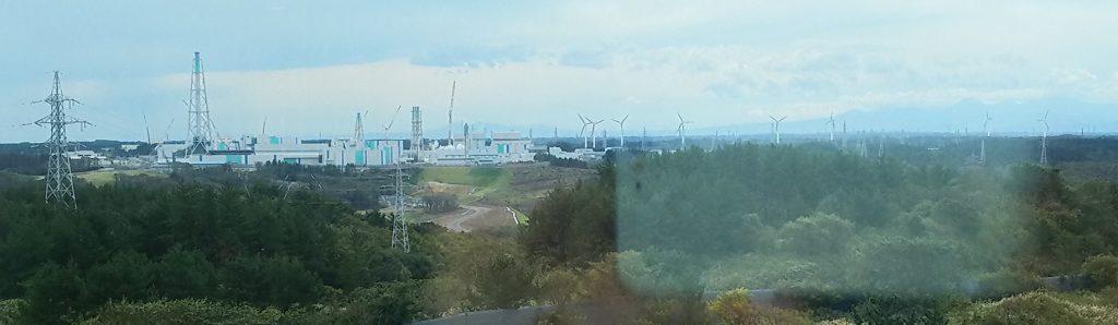 六ケ所原燃PRセンター展望塔から