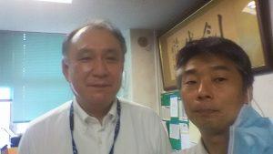 小中台中学篠塚校長先生